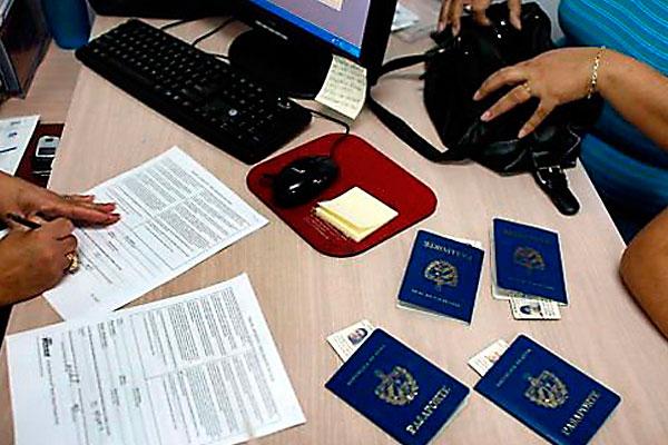 Inmigraci n y extranjer a centro cubalex for Ministerio del interior pasaporte telefono